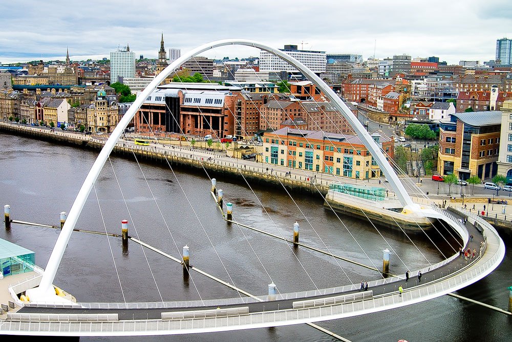 Newcastle Millennium Bridge